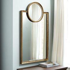 JAdore Circle Square Gold Mirror
