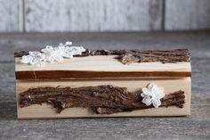 Porte bagues en bois/Boîte de bagues de par lechoixdelamariee