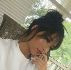 classic lace wigs love ponytail full lace wigs k Grunge Hair Classic full Lace lacewigs Love Ponytail Wigs Hair Inspo, Hair Inspiration, Wispy Bangs, Front Bangs, Edgy Bangs, Cute Bangs, Curly Full Lace Wig, Pelo Natural, Hairstyles With Bangs
