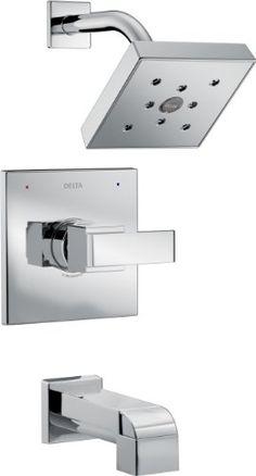 Delta Faucet Delta T14467 Ara 14 Series Tub/Shower Trim, Chrome - - Amazon.com