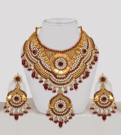 Polki Bridal Jewellery Set