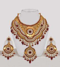 Polki Bridal Jewellery Set