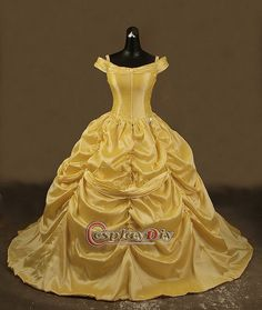 Belle (Beauty and the Beast) wedding dress!  I'd like it in white, please!