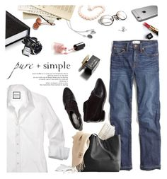 """449"" by believelikebreathing ❤ liked on Polyvore featuring Lab, Hiho Silver, Chanel, Madewell, Lord & Taylor and D&G"