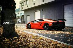 Lamborghini Aventador..