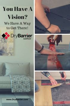 You Have The Vision DryBarrier Subfloor Has The Way! Let's Us Show You How…… For more information visit www.drybarrier.com  #subfloor #vaporbarrier #BuyerBootcamp #Lowes #Basmentrenovation#Menards #USAandCanada #McmunnandYates #DIYnetwork#Homeimprovements #HGTVCanada #McGillivraytrustedproduct#TureProtectionandComfort Picture Sharing, Diy Network, Hgtv, Lowes, Basement, Home Improvement, Root Cellar, Basements, Home Improvements