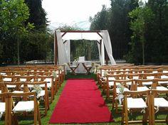 White wedding ceremony Algarve Portugal by Algarve Wedding Planners