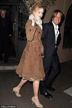 Keith Urban and Nicole Kidman out to Dinner for Nicole's 45th Birthday