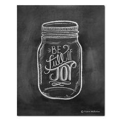 Be Full of Joy Jar Illustration - Print - Lily & Val