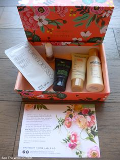 See the World in PINK: April 2015 Birchbox Canada - Subscription Box Review
