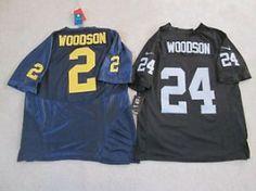 #Oakland CA Merchandise / Oakland #Raiders #Michigan #CharlesWOODSON Retro Home #Jersey Men L NEW 2 Pak LOT! - Geebo