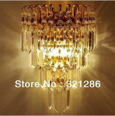 crystal wall light indoor wall lamp bedroom crystal wall lamp