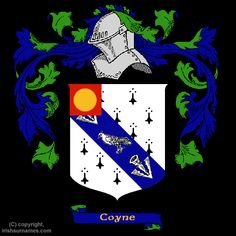 Coyne Coat of Arms, Family Crest - Click here to view