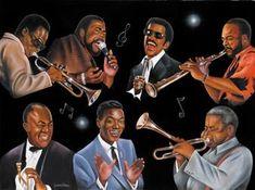 Jerome Brown, Art Of Noise, Black Art Painting, Old School Music, Black Art Pictures, Black Love Art, Black Actors, Black Image, African American Art