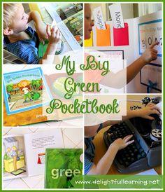 Delightful Learning: My Big Green Pocketbook {B4FI♥AR}