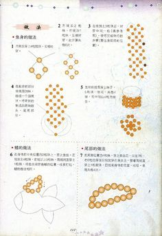 Bead Fish - Beaded Jewelry Patterns