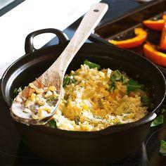 Feiner Reistopf mit Kürbis  schnelle Rezepte