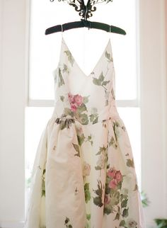 Floral reception dress | Wedding & Party Ideas | 100 Layer Cake