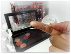 swatch makeup geek beaches cream eyeshadow pan z palette fard à paupière mug simplement marilyne