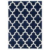 Gefunden bei Wayfair.de - Handgefertigter Teppich Arabesque in Blau