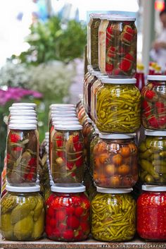 Pickle Jars | Flickr   Photo Sharing! Vegetable Farming, Pickle Jars, Farm  Stand