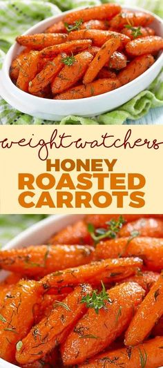 Weight Watcher's Honey Roasted Carrots!!! - Low Recipe