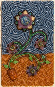 Fruition by Lisa Binkley - can you just imagine!? A beaded BOS cover!? Ooo I want to try that!