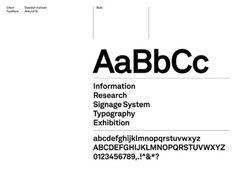 Stockholm Design Lab (SDL) / Swedish Institute / Akkurat Si / Brand Guidelines / 2010
