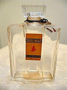 Rare Guerlain Flacon de Guerre Shalimar bottle by meliscents, $125.00