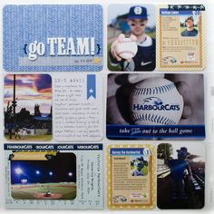 Inspiration from our Becky Higgins Project Life physical creative team--July 2016 Mais Scrapbooking Layouts, Scrapbook Pages, Baseball Scrapbook, Digital Project Life, Becky Higgins, Project Life Layouts, Royal Park, Life Page, Physics