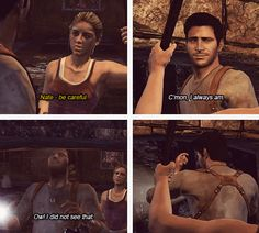 Elena & Nate - Uncharted: Drake's Fortune