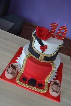 Ethno cake - cake by Zaklina Elegant Birthday Cakes, 18th Birthday Cake, Birthday Pictures, Bulgaria, Folklore, Cake Designs, Daily Inspiration, Cake Ideas, Birthday Candles