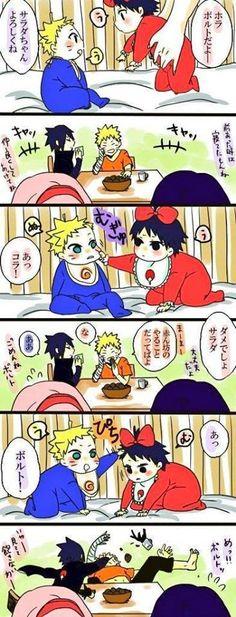 Ni idea de q dira pero mori con la parte donde Sasuke golpea a Naruto !