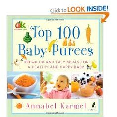 for homemade baby food