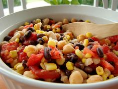 Bean Salad - Pantry Friendly & Healthy