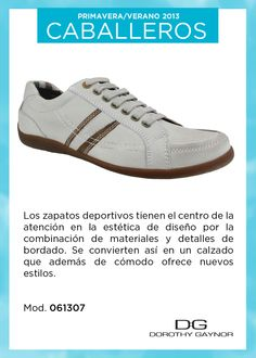 Zapatos deportivos con nuevos estilos