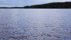 Järven kimallusta
