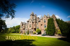 Guthrie Castle Wedding Photography by Angus Forbes