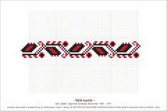 Semne Cusute: MOTIVE: (P18, M7) Creative Embroidery, Folk Embroidery, Cross Stitch Embroidery, Embroidery Patterns, Cross Stitch Borders, Cross Stitch Patterns, Stitch 2, Beading Patterns, Pixel Art