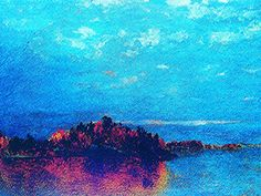 "https://flic.kr/p/zSMykj | Luigi Speranza -- The Connecticut Shore -- J. F. Kensett, ""Twilight after a storm"" -- oil on canvas -- 15 x 30 -- Collezione W. Shanahan -- ""Kensett and the Connecticut Shore,"" Mattatuck, Waterbury, Connecticut."