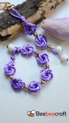 Diy Bracelets Patterns, Diy Friendship Bracelets Patterns, Diy Bracelets Easy, Jewelry Patterns, Handmade Bracelets, Handmade Wire Jewelry, Diy Crafts Jewelry, Bracelet Crafts, Beaded Jewelry