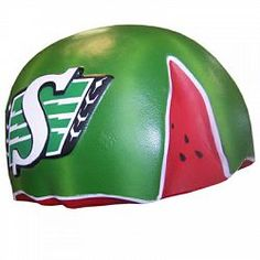67d4d8c4773 Saskatchewan Roughriders Foam Melon Head. Features Riders logo on each  side