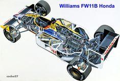 FW 11B Honda-(1987)  DiseñadoPatrick Head, Sergio Rinland