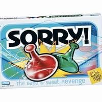 """Her favorite board game.  She loved to yell """"SORRRYYYYY!!!"""", with a big grin!!!  LOL."""