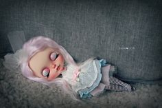 Dreaming away - custom Blythe by Jodiedolls