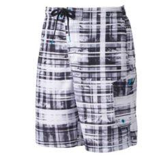 Men's Speedo Marble Striped E-Board Shorts