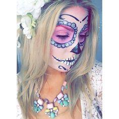 Shaaanxo Halloween makeup tutorials : sugar skull