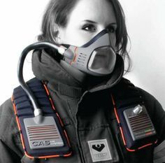 Extreme Filtration Masks- yeah this is the way of the future for all of us who live in big enough cities.