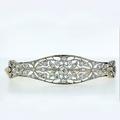 Edwardian Diamond Bracelet.  Seriously in love with this.
