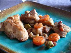 Tajine de poulet aux artichauts